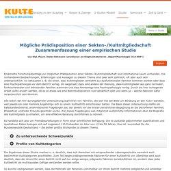 Studie - Kulte.de
