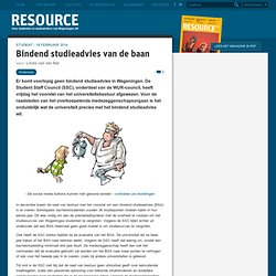resource: Bindend studieadvies van de baan