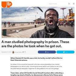 A man studied photography in prison. These are the photos he took when he got out.
