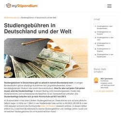 Studiengebühren in Deutschland und der Welt