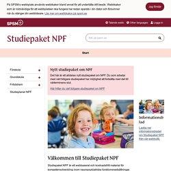 Studiepaket NPF
