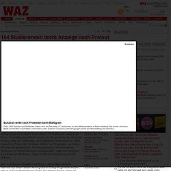 154 Studierenden droht Anzeige nach Protest in Essen - Essen - DerWesten