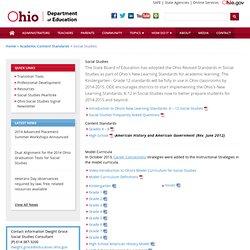 Social Studies OHIO