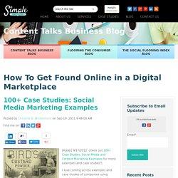 100+ Case Studies: Social Media Marketing Examples