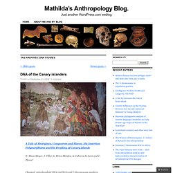 Mathilda's Anthropology Blog.
