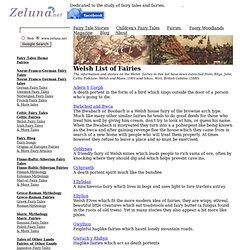 Studies of celtic fairies
