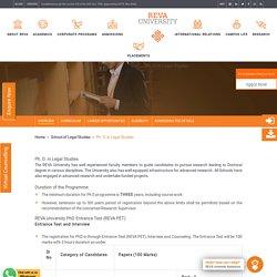 Ph.D. In Law: Ph. D. in Legal Studies Program Details