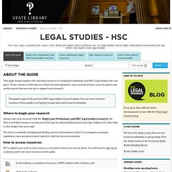 About the guide - Legal Studies - HSC - Research guides at State Library of New South Wales