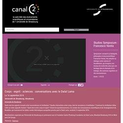 Studies Symposium : Francesco Varela - CanalC2 : la web télévision des événements universitaires de l'Université de Strasbourg