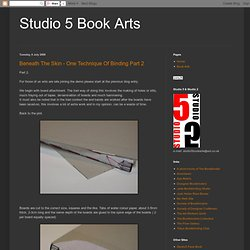 Studio 5 Book Arts