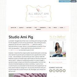 Studio Ami Pig