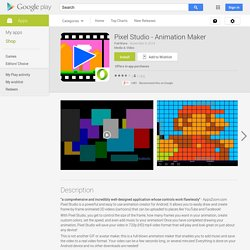 Pixel Studio - Animation Maker