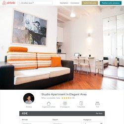 Studio Apartment in Elegant Area à Milan