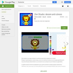 Zen Studio: dessin anti-stress – Applications Android sur Google Play