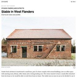 Studio Farris Architects, Koen Van Damme · Stable in West Flanders