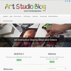 Art Studio Blog – Learn from my experience