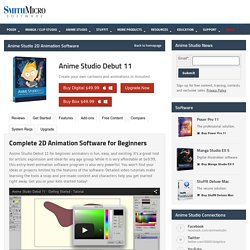 Anime Studio Debut 11 – Create Your Own Cartoons and Animations