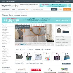Skip Hop Studio Diaper Tote in Pewter Dots - Designer Diaper Bags at Diaper Bags