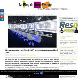 Studio 887 : dînez en immersion vidéo à 360° : RESO France le blog