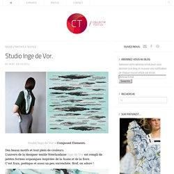 Studio Inge de Vor.