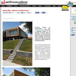 Studio 804 - Modular 3 Prefab House