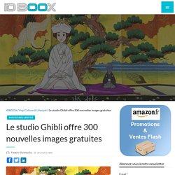 Le studio Ghibli offre 300 nouvelles images gratuites