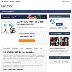 Clip Studio Paint – Fonctionnalités