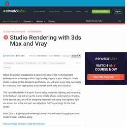 Studio Rendering with 3ds Max and Vray
