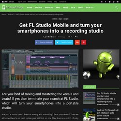 Turn your Android Phones into a Recording Studio