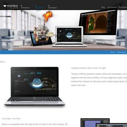 Studio - Minko, open source 3D engine for HTML5, iOS, Android, Windows, OSX and Linux