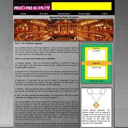 learn studio design, treatment methods and tools used.