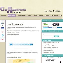 CSS Animation Studio
