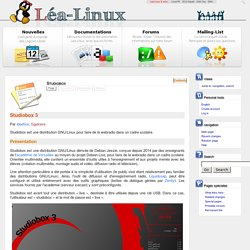 Studiobox — Lea Linux