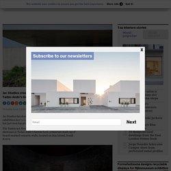 Jac Studios creates delicate glass exhibition in Tadao Ando's Genius Loci