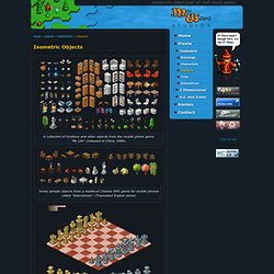 Mini Wizard Studios - Pixel art - Isometric Objects