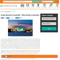 Study Abroad In Australia - Why Study In Australia?