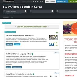 Study Abroad in South Korea – Find a study program with GoAbroad.com