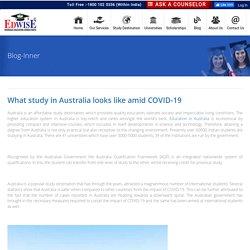What study in Australia looks like amid COVID-19