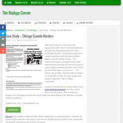 Case Study – Chicago Cyanide Murders