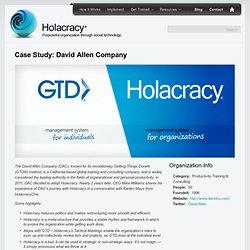 Case Study: David Allen Company