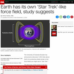 Study: Earth has its own 'Star Trek'-style force field