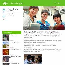 Study English Series 1 - Learn English - Australia Plus