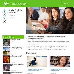Study English Series 3 - Learn English - Australia Plus