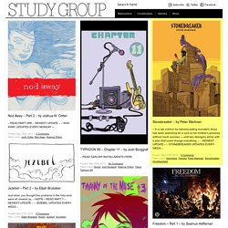 Study Group Comic Books
