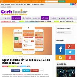 Study Heroes : révise ton BAC S, ES, L en défiant tes amis