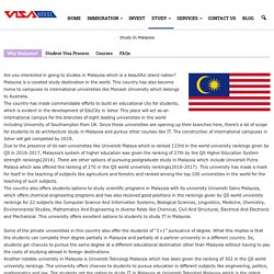 Study IT in Malaysia,Cost of Studying in Malaysia