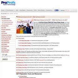 FREE SAT Exam Study: Online Free SAT Test Prep , New SAT Exam Study guide & Test Prep Practice
