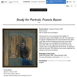 Study for Portrait Francis Bacon