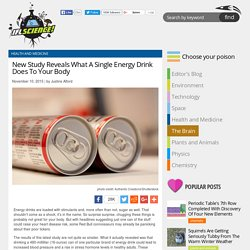 New Study Reveals What A Single Energy Drink Does To Your Body