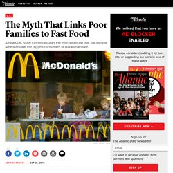 New CDC Study Shows Everyone Eats Fast Food Equally